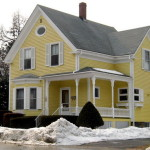 Yellow Color House Exterior Paint Schemes Ideas Fundamental Rules When