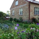 You Can Post This Brick House Garden Image That Above Your