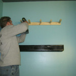 You Easy Diy Pallet Wood Floating Shelves Hung Two