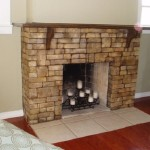 Your Natural Living Space Cool Stone Faux Fireplace Design Ideas