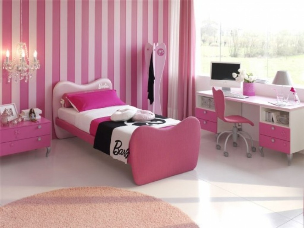 Your Room Pink Futuristic Girl Bedroom Decorating Ideas
