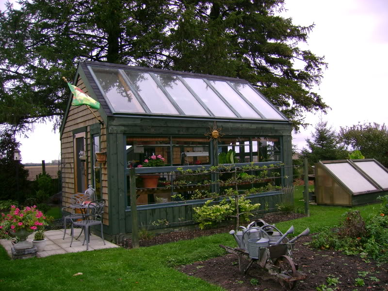Yourself Shed Plans Greenhouse And Woodworking Package