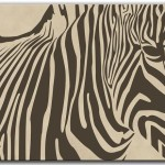 Zebra Mousepad Office Decor Zoo Animal Mouse Bluefoxgifts