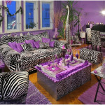 Zebra Print Curtains And Drapes Yellow
