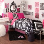 Zebra Room Accessories For Nice Decoration Deep Pink Ideas