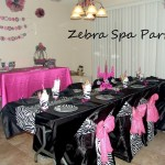 Zebra Spa Party Ideas And Wanted Share Her