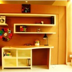 Contemporary Style Study Table Designs For