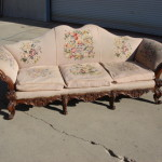 American Antique Victorian Couch Sofa Furniture