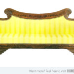 Yellow Antique Couch