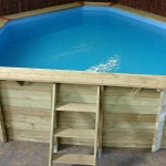 Eco Corner Wooden Pool