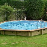 Eco Octagonal Wooden Pool High