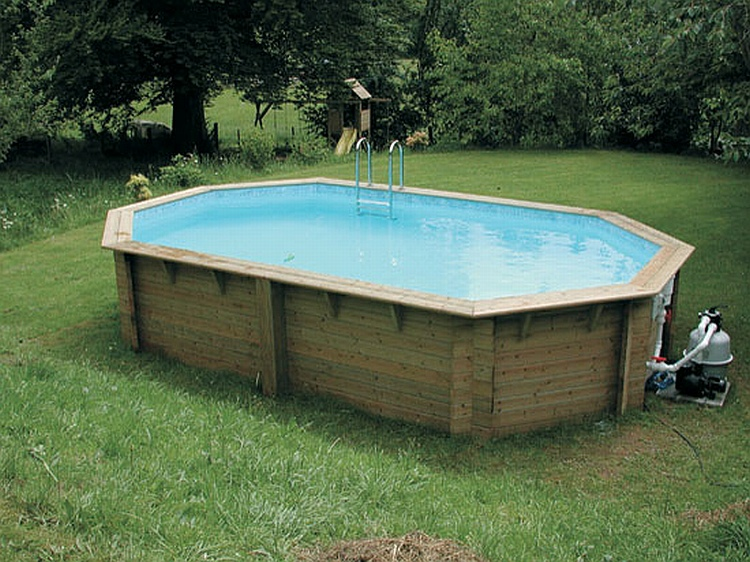 Eco Stretched Wooden Pool High
