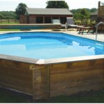 Our Plastica Premium Wooden Swimming Pool Kit Includes