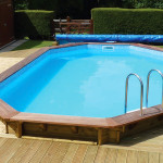 Plastica Premium Stretched Octagonal Wooden Pools