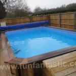 Plastica Regent Wooden Rectangular Swimming Pool