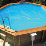 Plastica Wooden Exercise Pool Solar Cover Micron