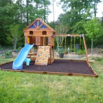 And Here The After Our Very Own Backyard Playground