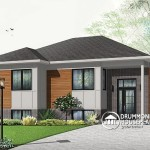 House Plan The Week Affordable Contemporary Bungalow