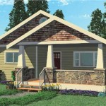 Image Computer Rendering The Quail Run Bungalow House Plans