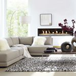 Low Back Sectional Sofa Modern Design For Cozy