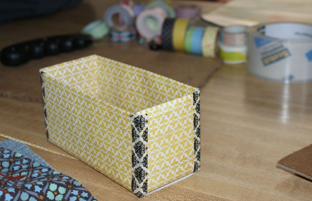 Once The Washi Tape Was All Four Corners Boxes Put