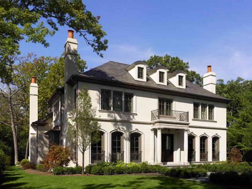 French Country House Plans Walkout