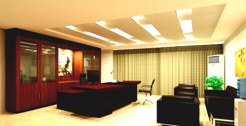 Chairman Office Interior Design By Chinese Style Download 3d House Modern Ceo Cabinet Desk And