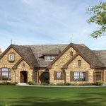 One Story Country House Stone One Story House Plans For Ranch Style Homes Lrg