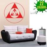 Abstract Modern Wall Art Decal Sticker Lounge Living Room Bedroom Stickers