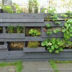Adorable Pallet Wall Planter Ideas Wood