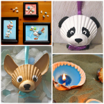 Adorable Seashell Craft Ideas Kids Crafty