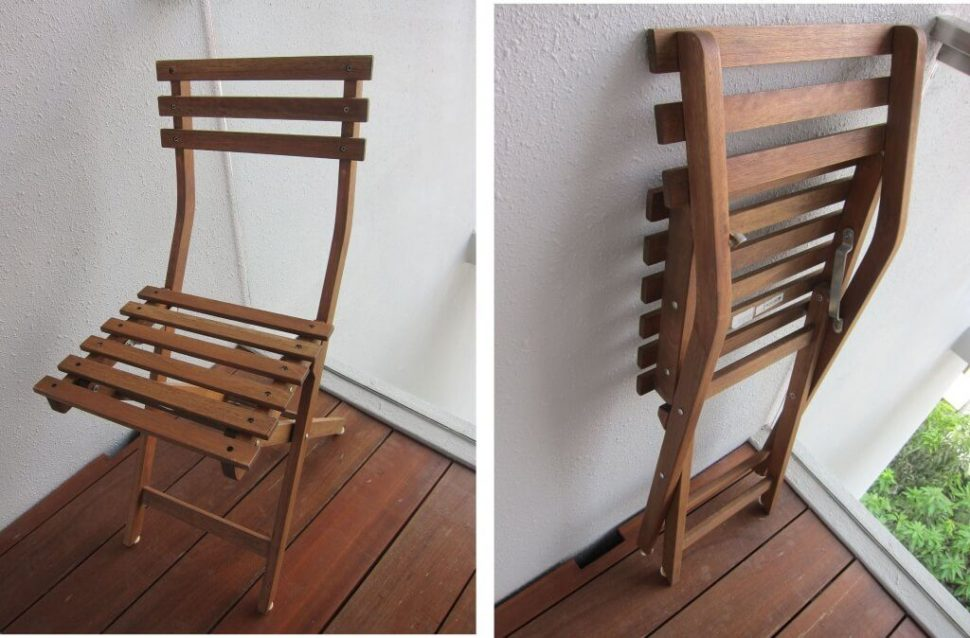 Affordable Wooden Folding Chair Ideas Balcony Furniture Budget