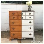 Alittlespruce Diy Year Old Maple Dresser Makeover Americana Deco Chalk