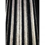 Allfloors Dozen Stripes Oneliner Black Hill Polypropylene Striped Felt