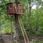 Amazing Backyard Tree House Getaways Salter Spiral