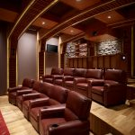 Amazing Movie Theater Wall Decor Decorating Ideas Home Rustic