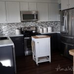 Ana White Small Kitchen Island Prep Cart Compost Diy