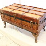 Antique Trunk Coffee Table Telliottworks