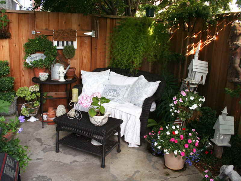 Apartment Small Patio Privacy Ideas One