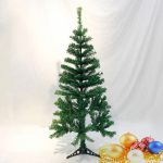 Artificial Upside Down Hanging Christmas Decor Tree Green