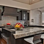 Awesome Onyx Countertops Decorating Ideas Kitchen Contemporary Design