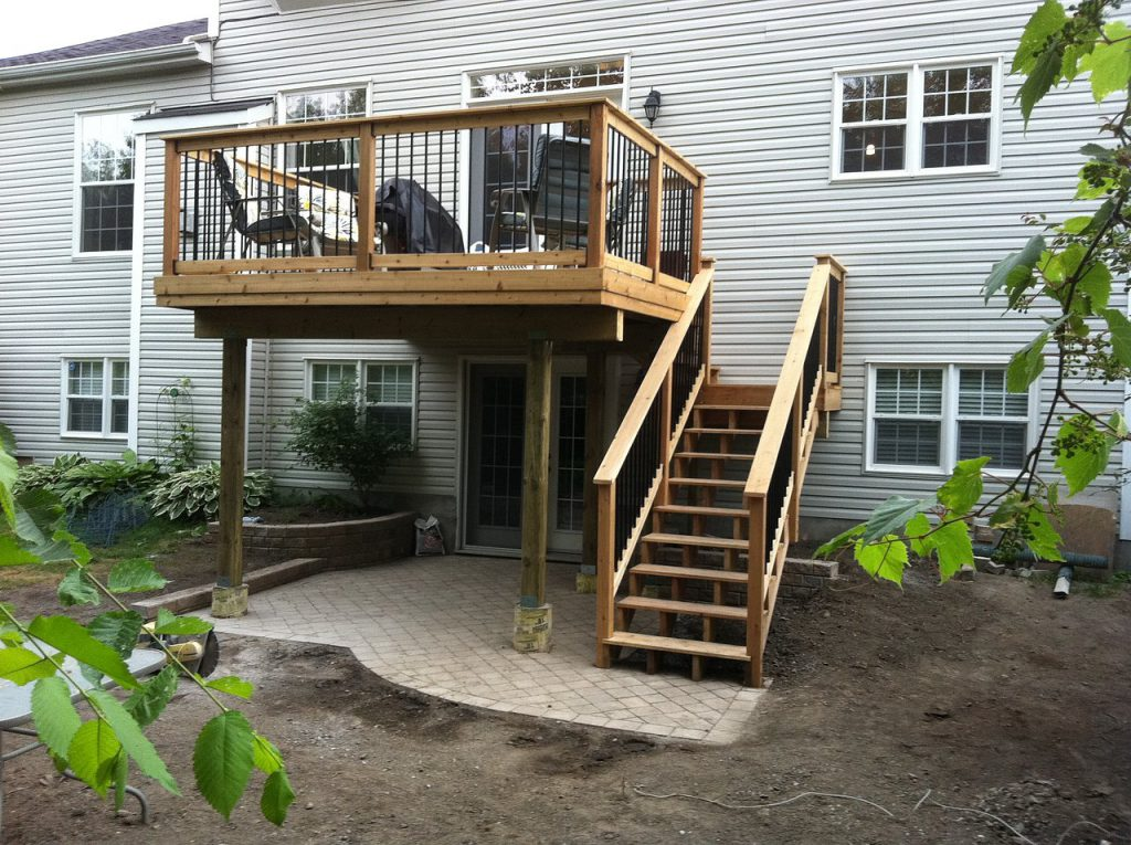 Awesome Second Story Deck Ideas Home Building