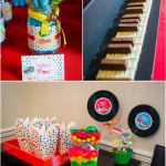 Baby Jam Music Inspired Birthday Party Ideas