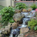 Backyard Landscaping Ideas Water Features Thorplccom Also Fall Feature Landscape