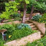 Backyard Retaining Wall Ideas Terraced