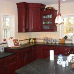 Barn Red Kitchen Cabinets Ideas Amazing Value Home Design