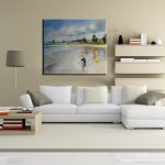 Beach Contemporary White Shaped Sectional Sofa Modern Room Ideas