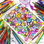 Beautiful Color Pencil Drawings Creative Art Works Kristina
