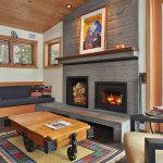 Beautiful Electric Fireplace Insert Living Room Contemporary Seating