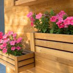 Beautiful Fence Planters Decorate Your Garden Designing